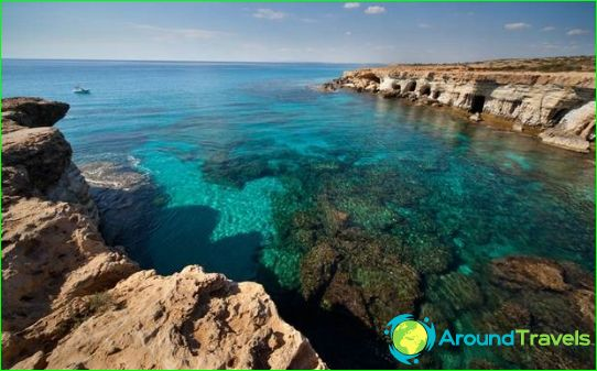 Ten zuiden van Cyprus