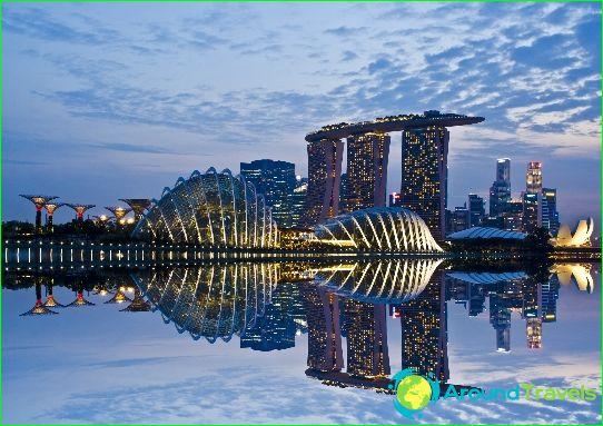 Singaporen meret