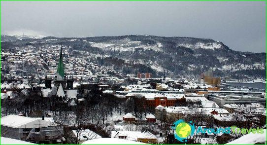Lomat Norjassa joulukuussa