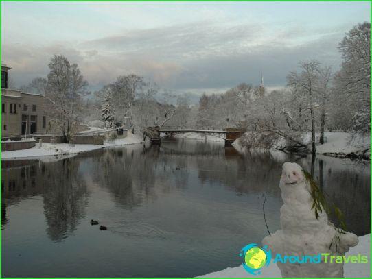 Lomat Latviassa joulukuussa