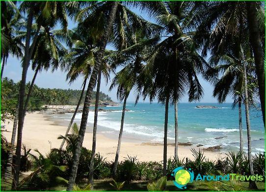 Ten zuiden van Sri Lanka