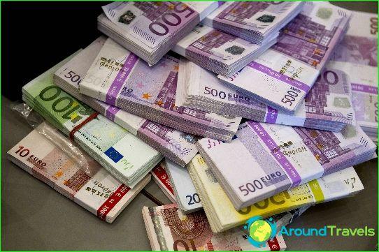 Valuta in Slowakije
