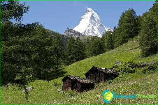Lomat Sveitsissä heinäkuussa