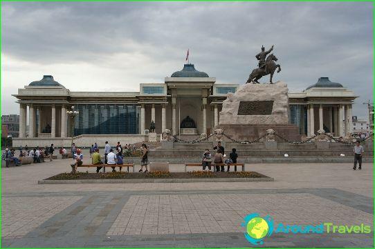 Ulaanbaatar - Mongolian pääkaupunki