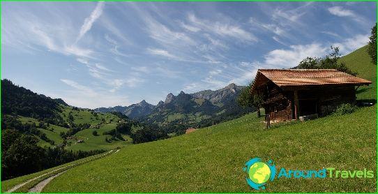العطل في سويسرا في أغسطس