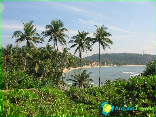 Lomat Sri Lankassa syyskuussa