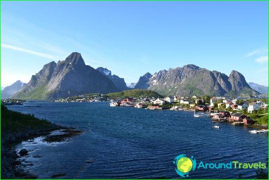 Eilanden Noorwegen