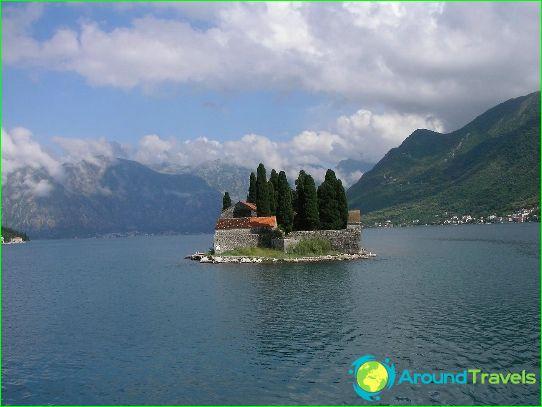 جزر الجبل الأسود