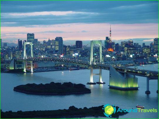 Tokio is de hoofdstad van Japan