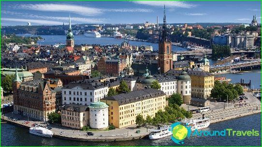 Stockholm - de hoofdstad van Zweden