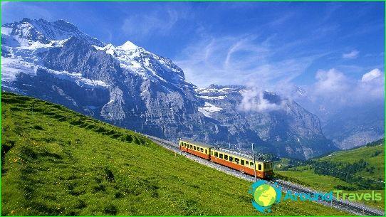 Kuljetus Sveitsissä