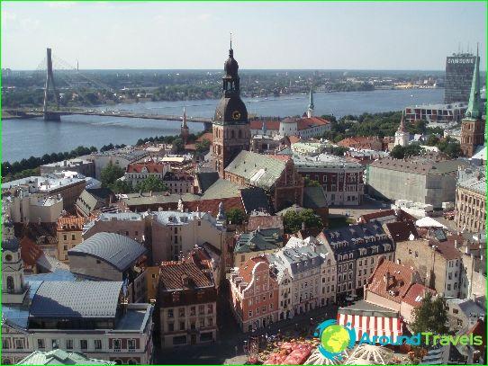 ريغا هي عاصمة لاتفيا