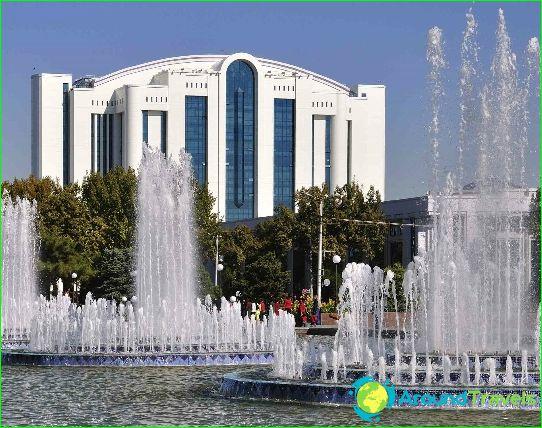 Taškent on Uzbekistanin pääkaupunki
