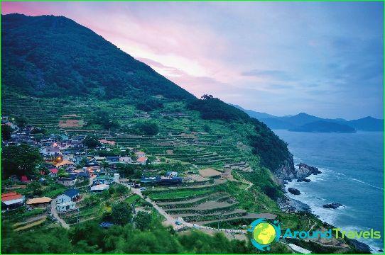 Eilanden Zuid-Korea