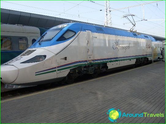 Kuljetus Uzbekistanissa