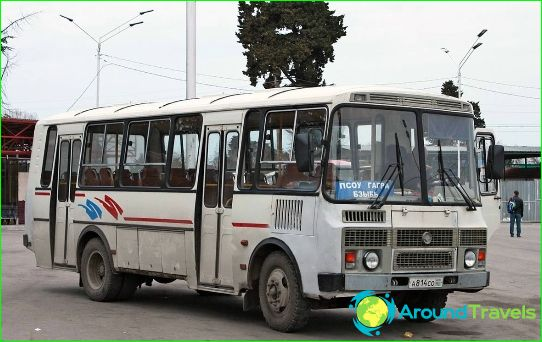 Kuljetus Abhasiassa