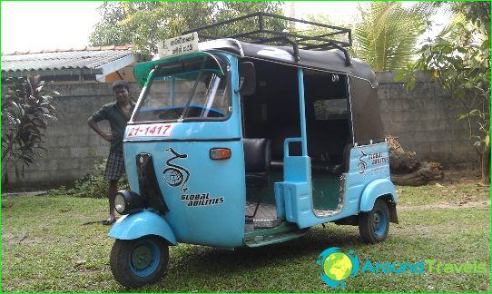 Kuljetus Sri Lankassa