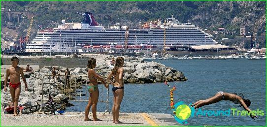 الرحلات البحرية في إيطاليا