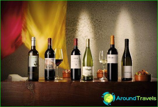 Вина от Испания