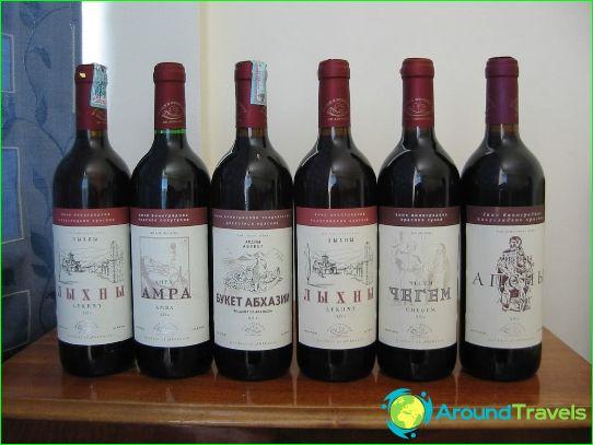 Wijnen van Abchazië