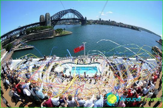 رحلات أستراليا البحرية