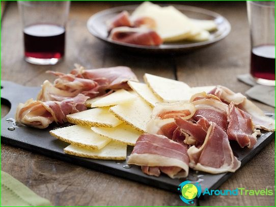 Espanjan ruokia