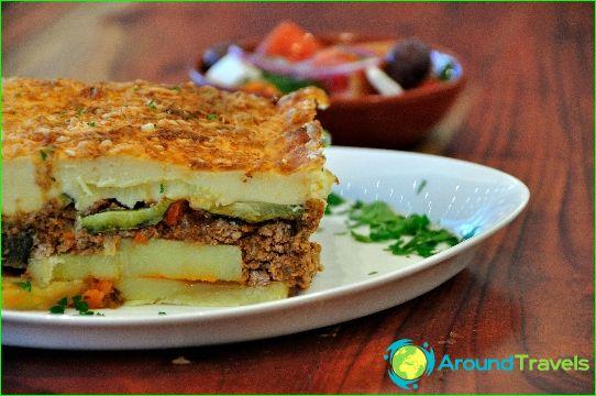 Kreikan ruokia