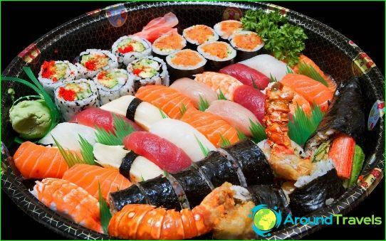 أطباق اليابان