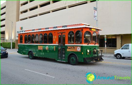 Kuljetus Miamissa