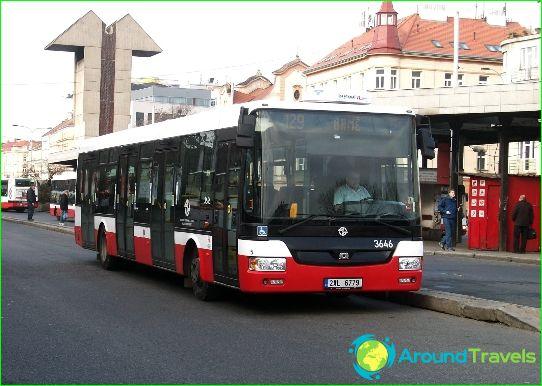 النقل في براغ