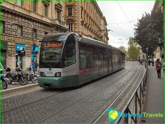 النقل في روما