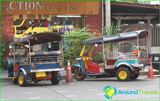 Транспорт в Патая