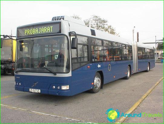Transport in Boedapest