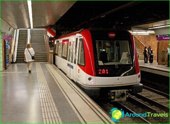 النقل في برشلونة