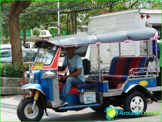 Kuljetus Bangkokissa