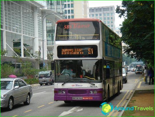 Kuljetus Singaporessa