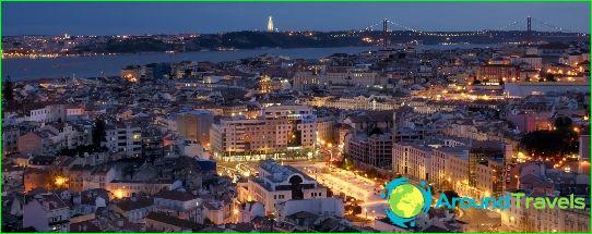 لشبونة هي عاصمة البرتغال