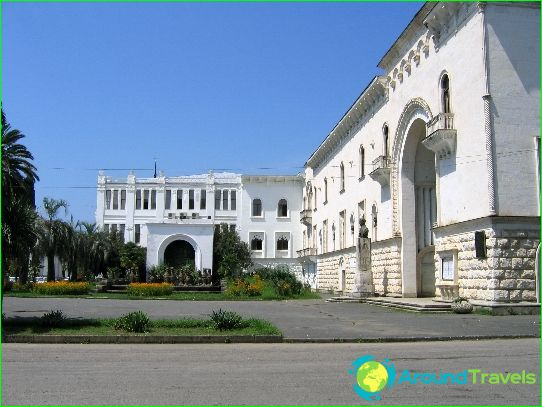 Sukhumi - de hoofdstad van Abchazië