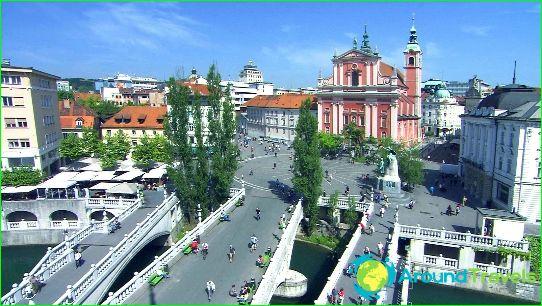 Ljubljana - de hoofdstad van Slovenië