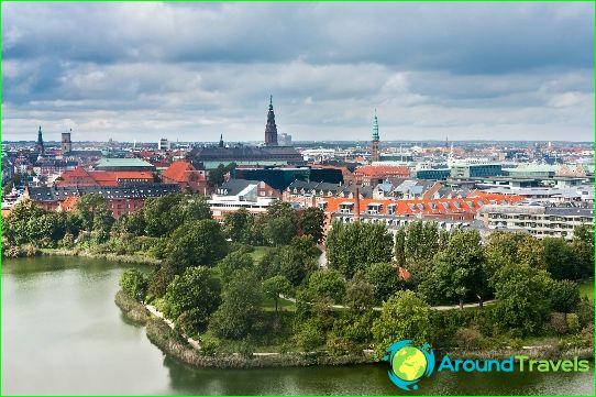 Kopenhagen - de hoofdstad van Denemarken