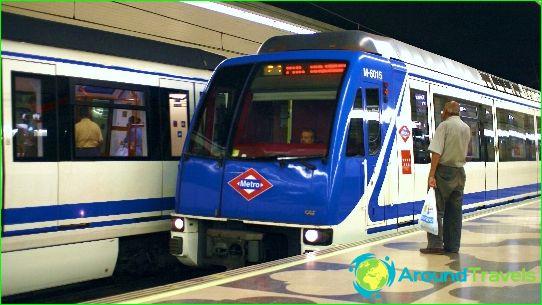 Kuljetus Madridissa