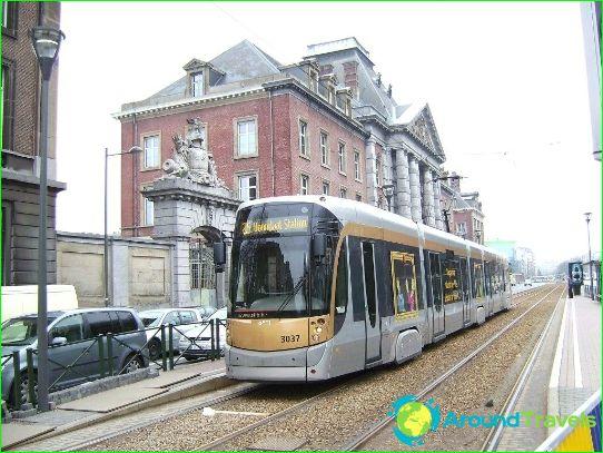 Kuljetus Brysselissä