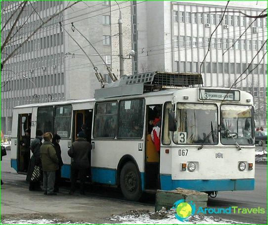 النقل في بريست