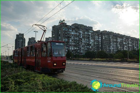 Transport in Belgrado