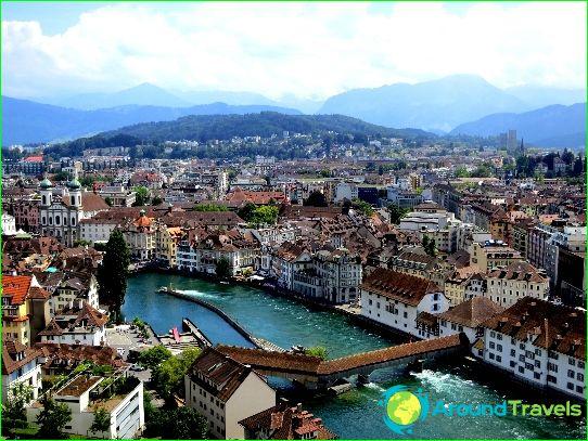 De mooiste steden van Zwitserland