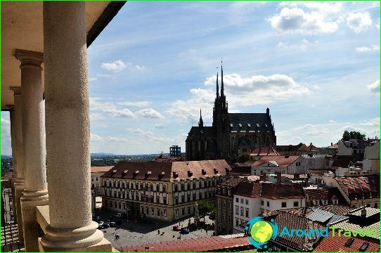 Tsekin tasavallan kauneimpia kaupunkeja