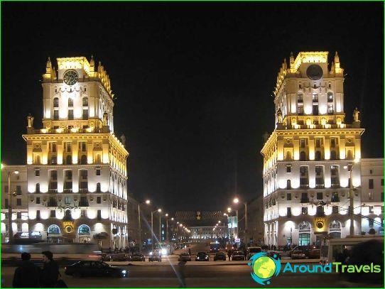 أجمل المدن في روسيا البيضاء