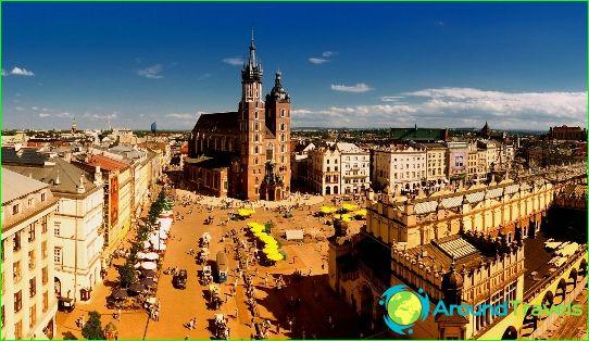 Най-красивите градове в Полша