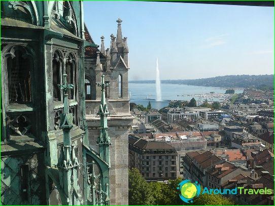 Kauneimmat kaupungit Sveitsissä