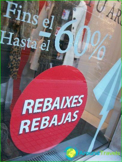 Verkoop in Spanje